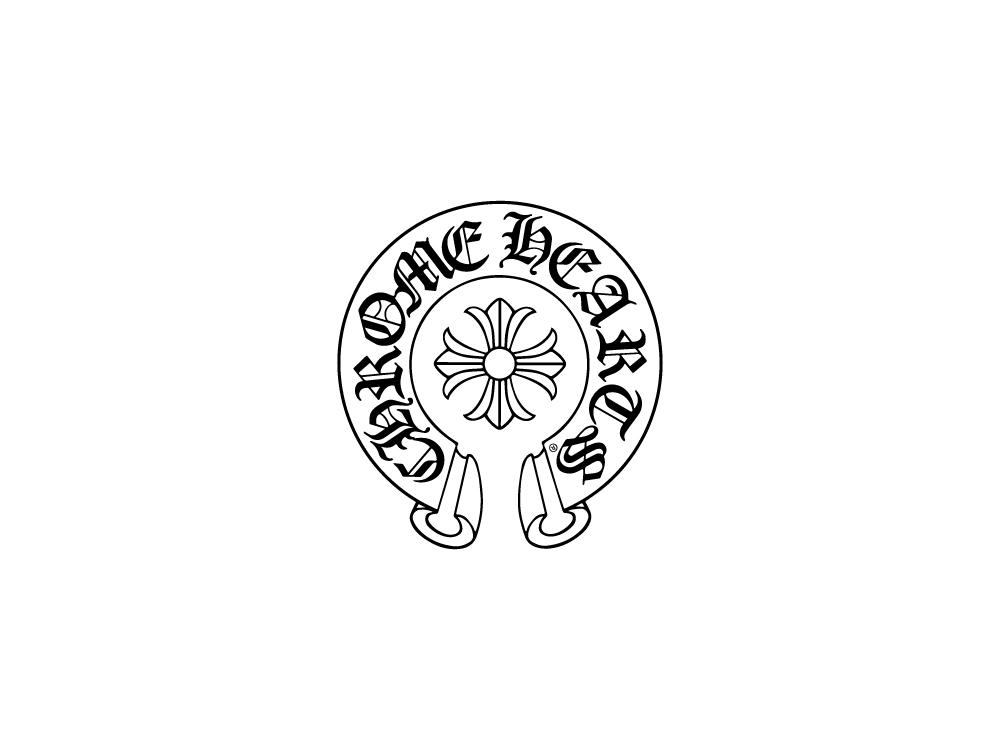 CHROME HEARTS [FUN HATCH-A 54size col.CWC(Coco White Cross)]