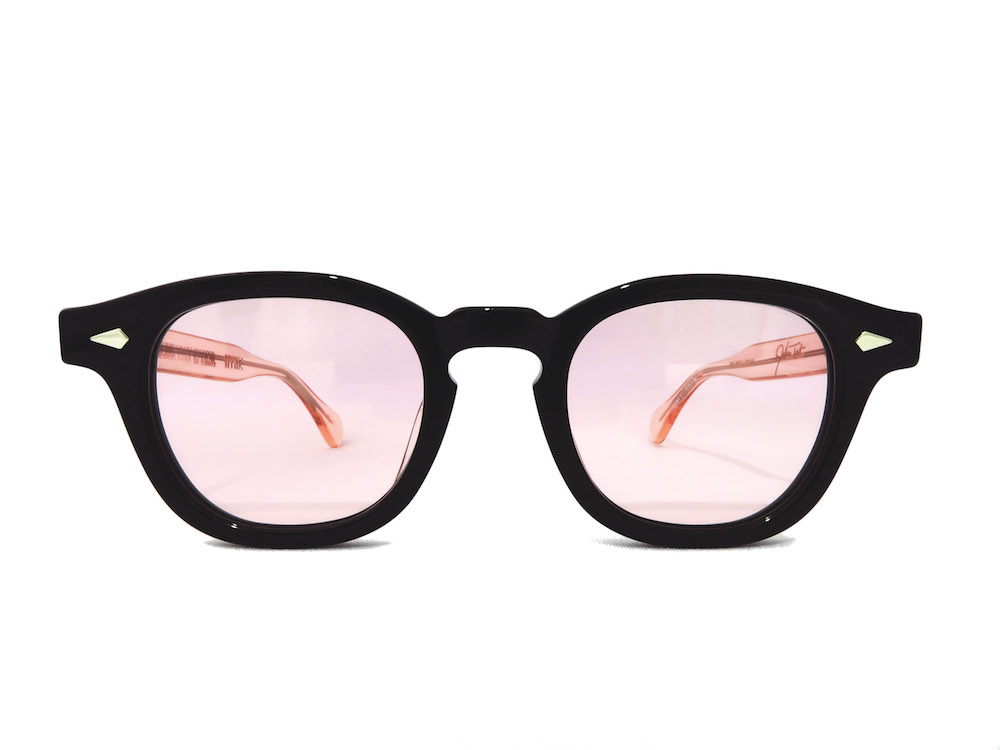 JULIUS TART OPTICAL×HYKE AR 44-22 Black/Flesh Pink 写真01